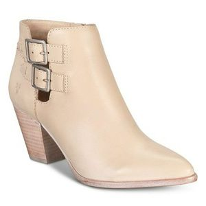 "FRYE Brand New Jennifer Booties in ""Ivory"""